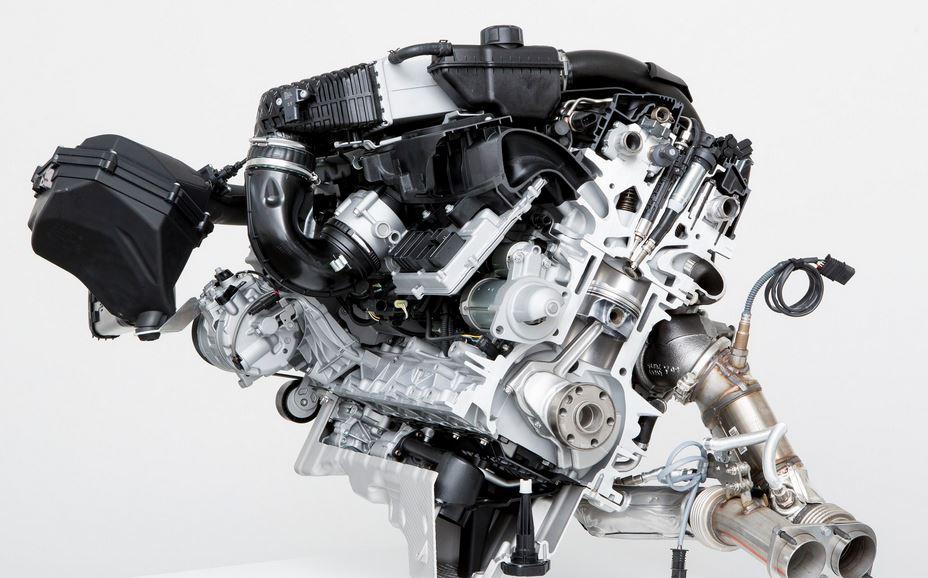 BMW S55 3 liter engine