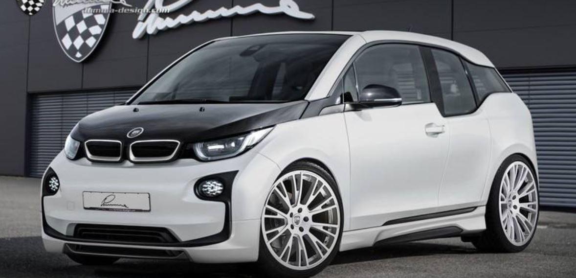 BMW i3 and i8 Customized by Lumma Design