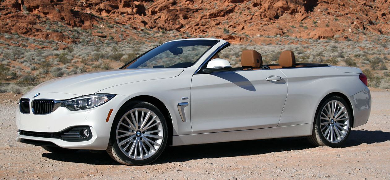 2014 BMW 4 Series Convertible Rendered in Video