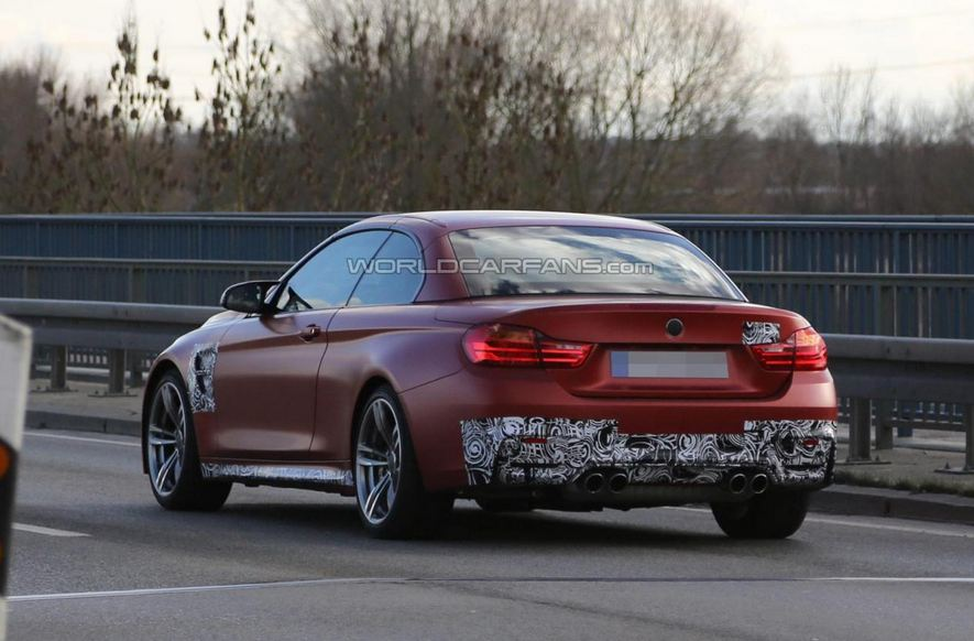 2014 BMW M4 Convertible spied