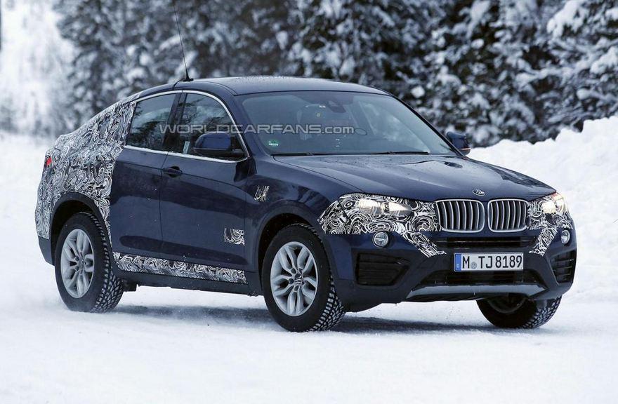 2015 BMW X4 Spied