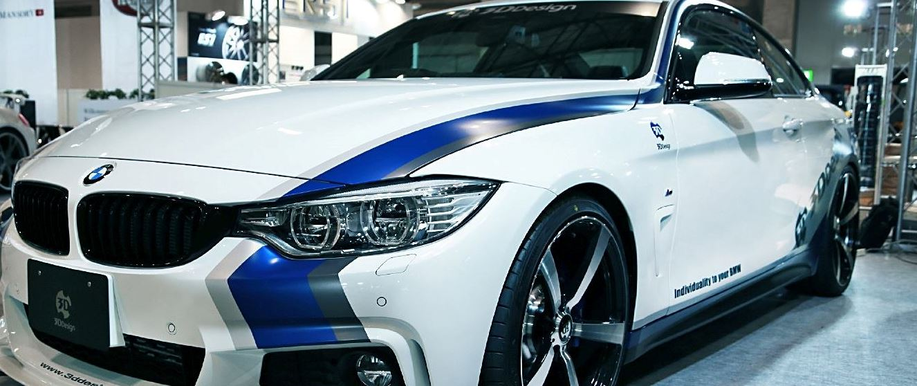 3D Design Gives BMW 4 Series a New Kit