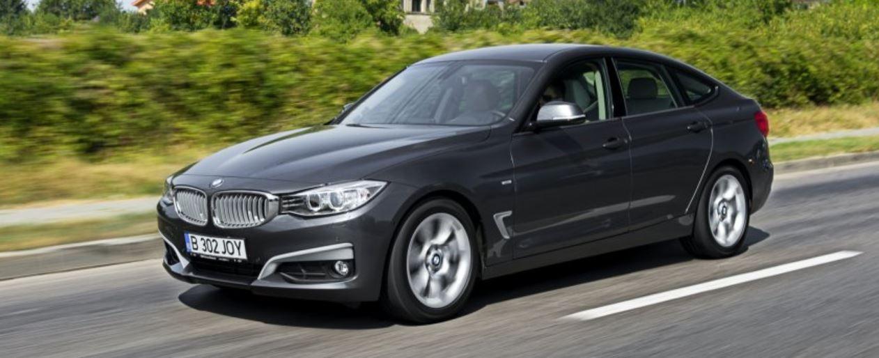 BMW 3-Series Gran Turismo on a Spin
