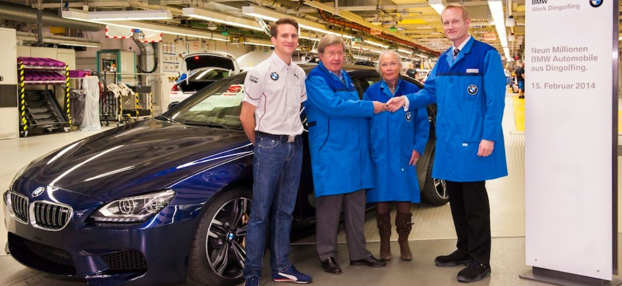 BMW M6 Gran Coupe to Complete the 9-Millionth Unit at Dingolfing Plant