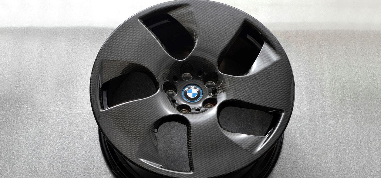 BMW Wheels in Carbon Fiber