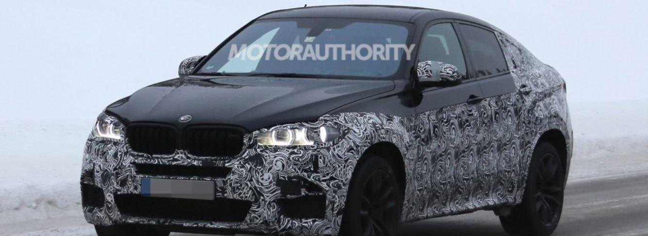 2015 BMW X6 M in Spied Photos
