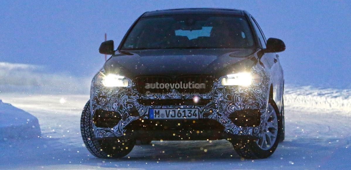 New BMW X6 Spied in Sweden