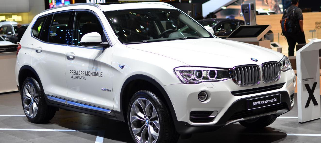 2014 Geneva: BMW X3 Facelifted