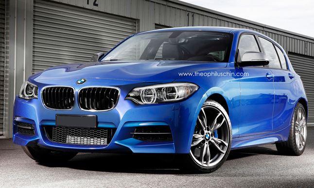 2015 BMW 1 Series Facelift Rendering