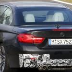 BMW M4 Cabrio Spied