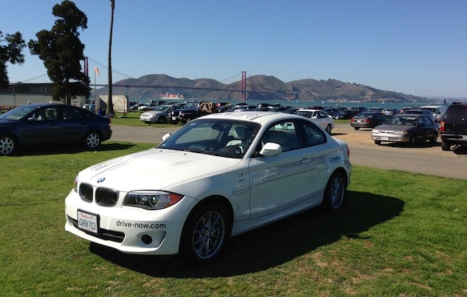 BMW`s DriveNow Car-Sharing Service