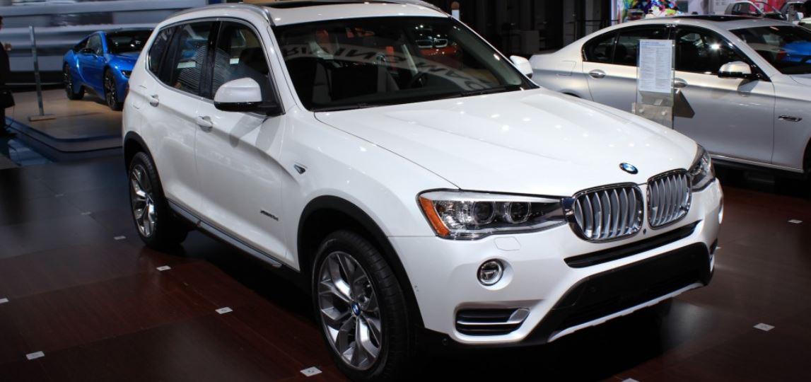 2014 New York International Auto Show: 2015 BMW X3