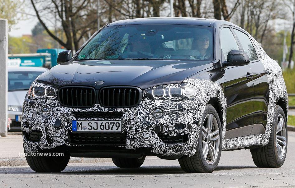 2015 BMW X6 Caught on Camera