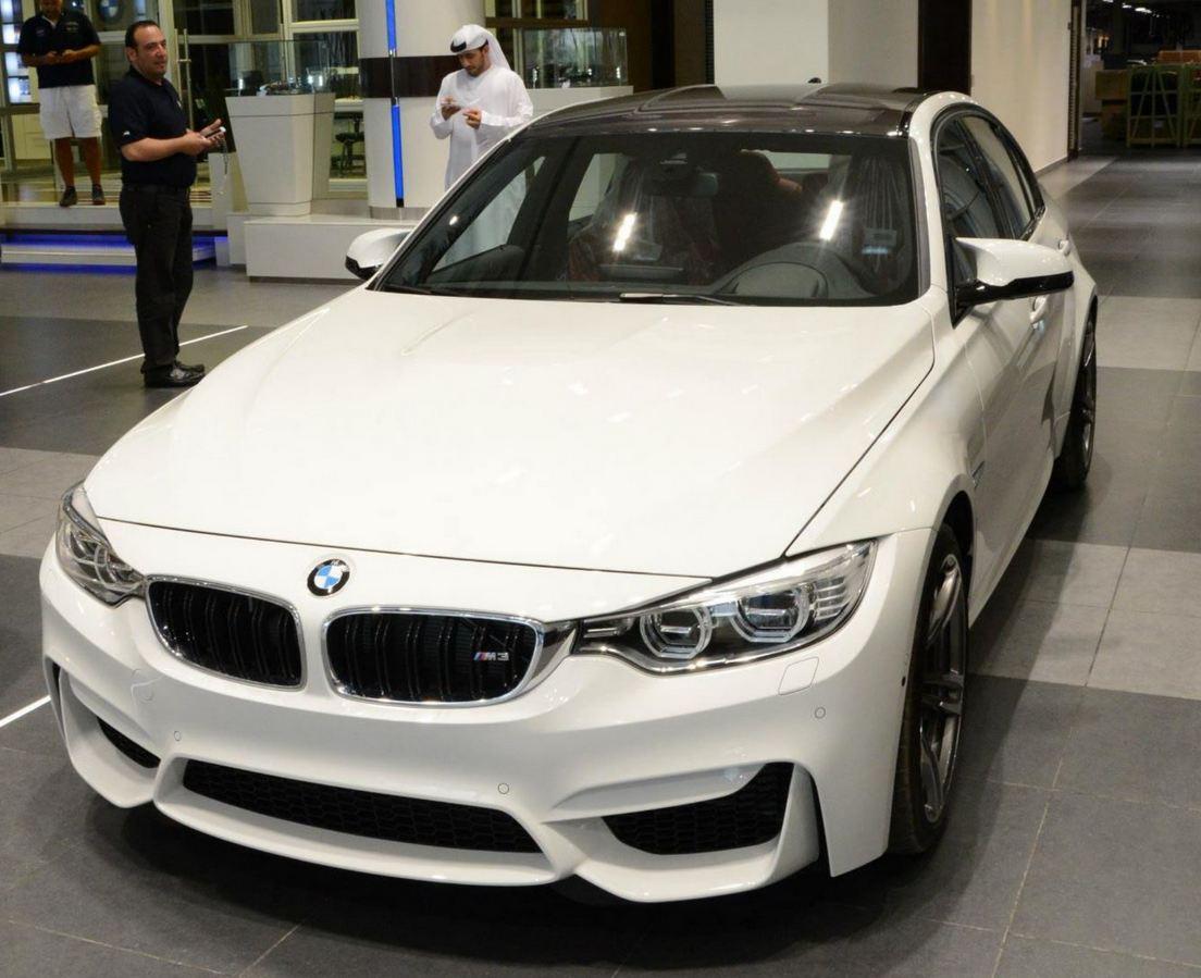 2015 F80 BMW M3 Abu Dhabi