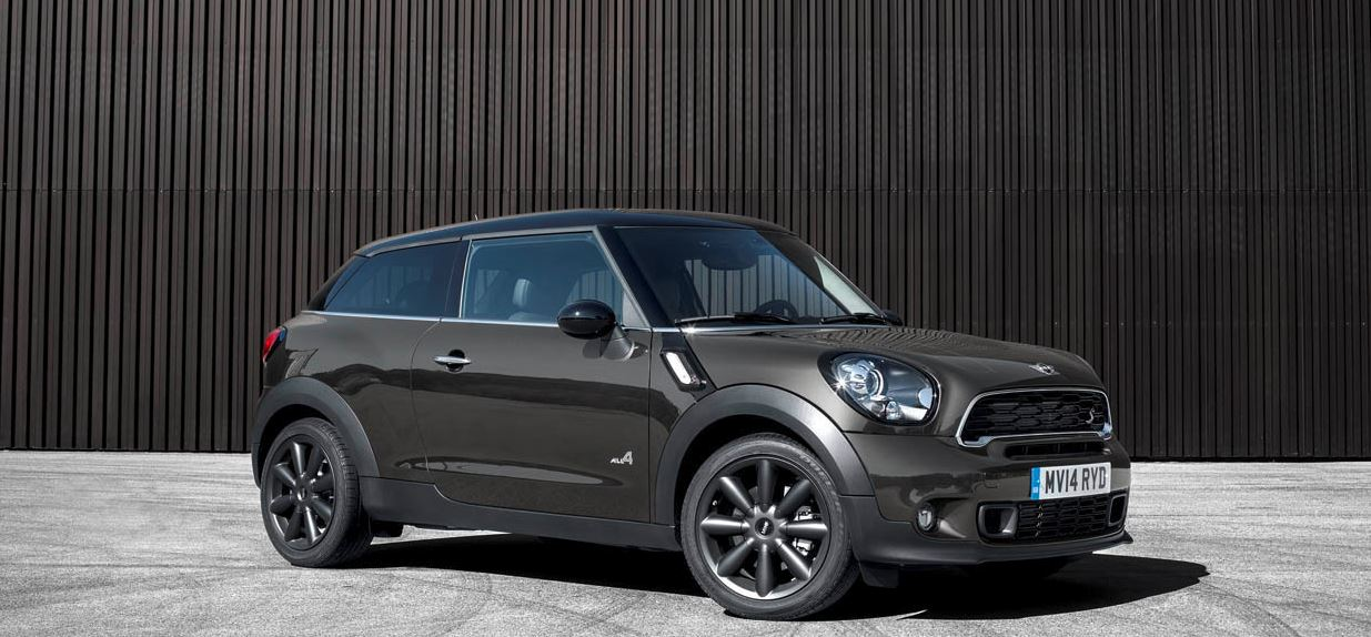 2014 Beijing: 2015 MINI Paceman just Arrived