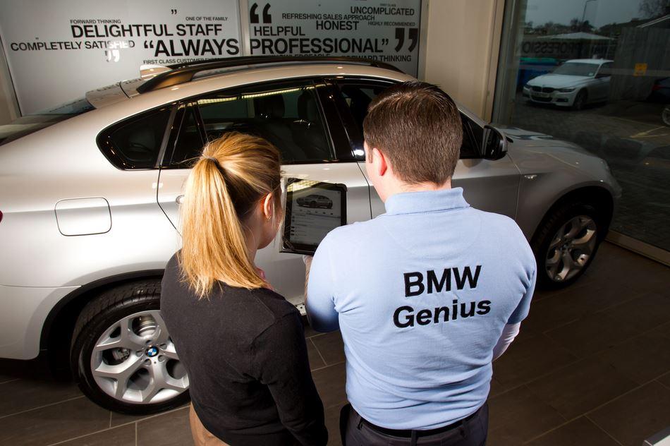 BMW Geniuses program