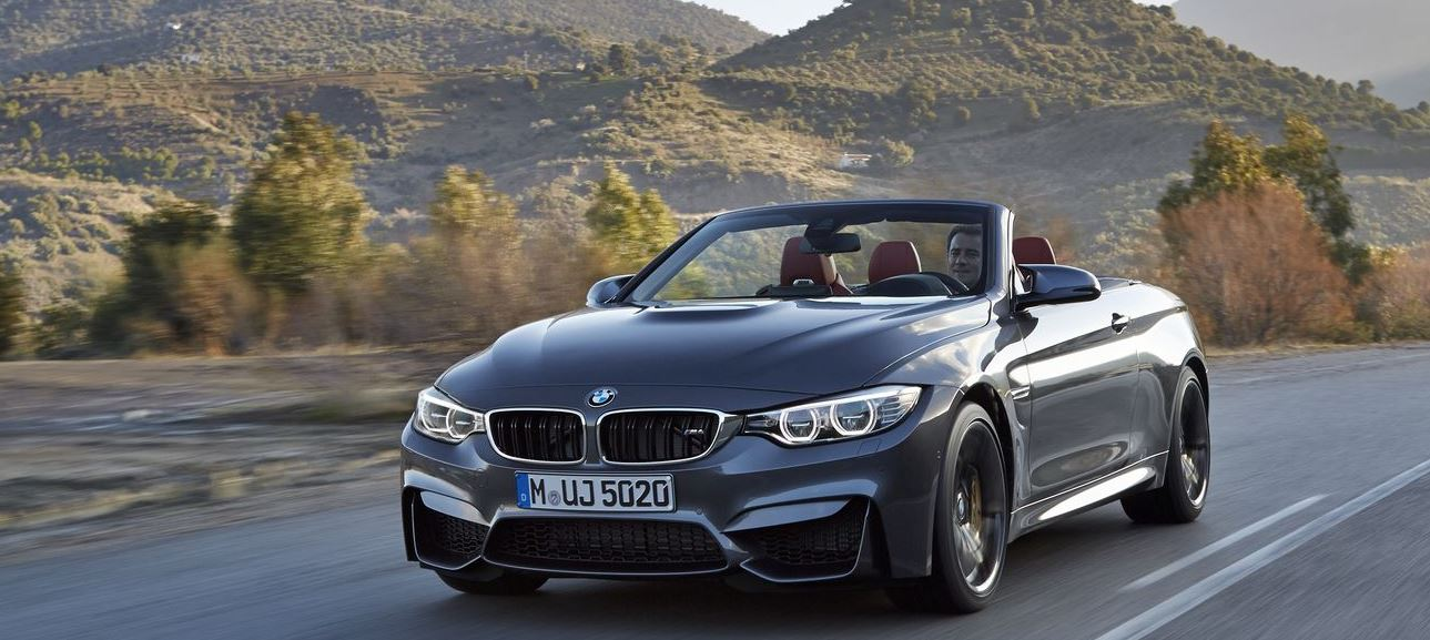 BMW M4 Convertible in New Videos