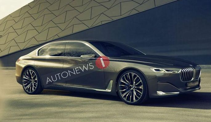 BMW Vision Future Luxury Concept leaked
