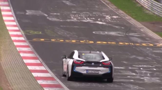 BMW i8 on the Nurburgring