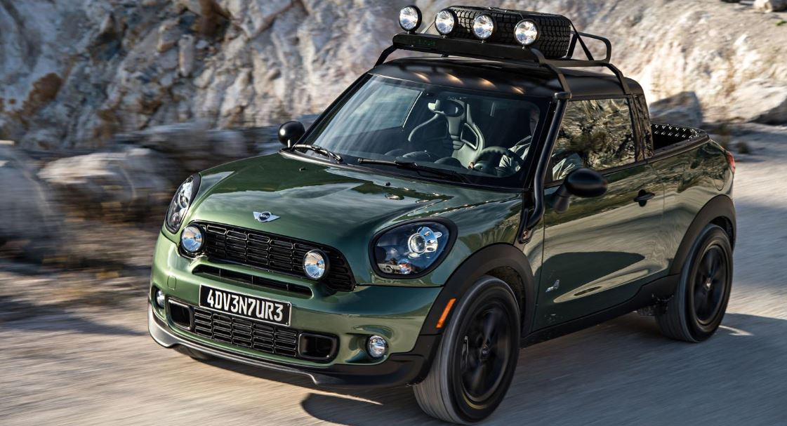 MINI Paceman Adventure Truck Concept Out of the Box