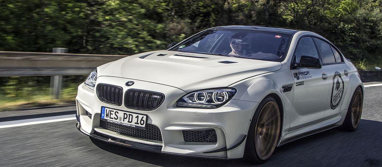 Prior Design Upgrades BMW M6 Gran Coupe