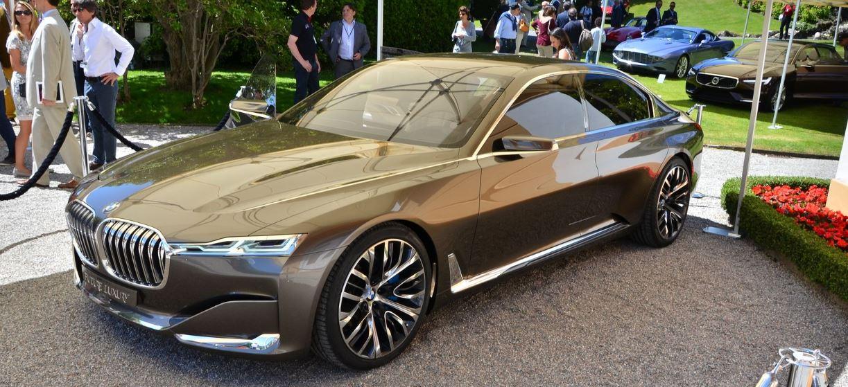 BMW Vision Future Luxury Concept at Concorso d'Eleganza Villa d'Este