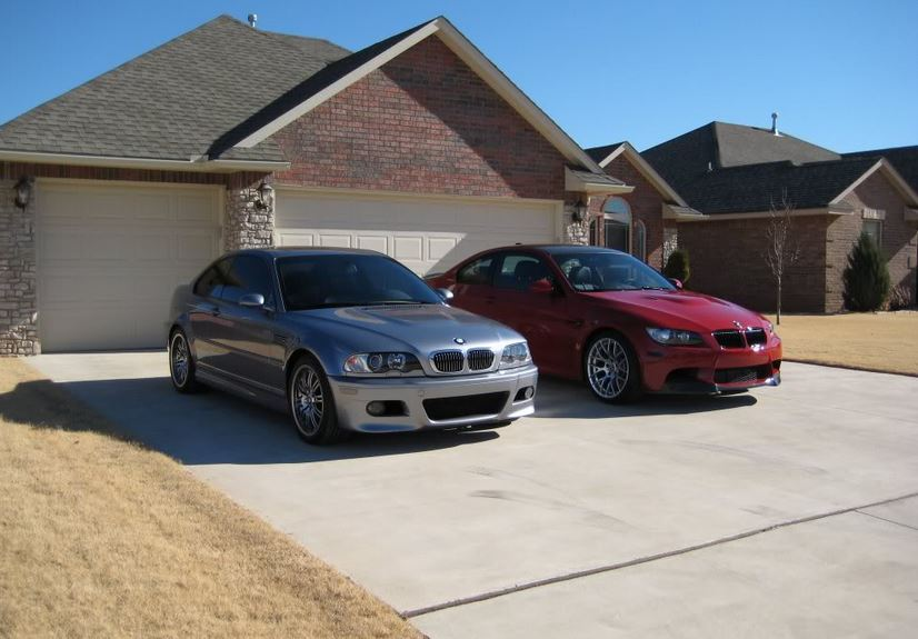 E46 and E92 BMW M3
