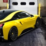 Tuned BMW i8 Caught Online