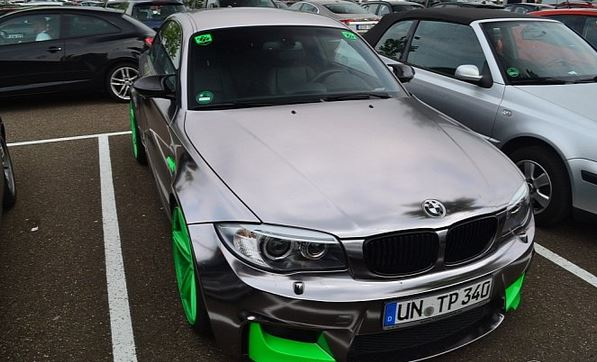 One way to ruin a BMW 1M