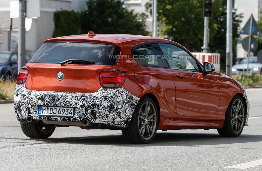 2015 BMW 1-Series spied