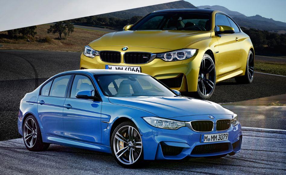 BMW M3 Sedan and M4 Coupe