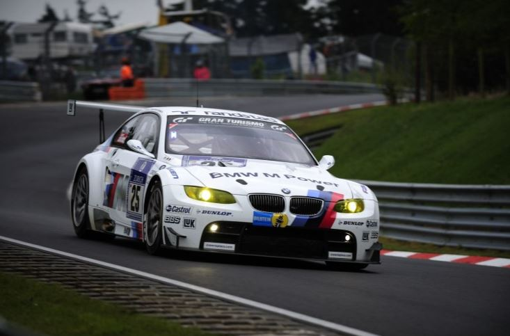 BMW M4 Coupe and M3 GT Race Car at Road America