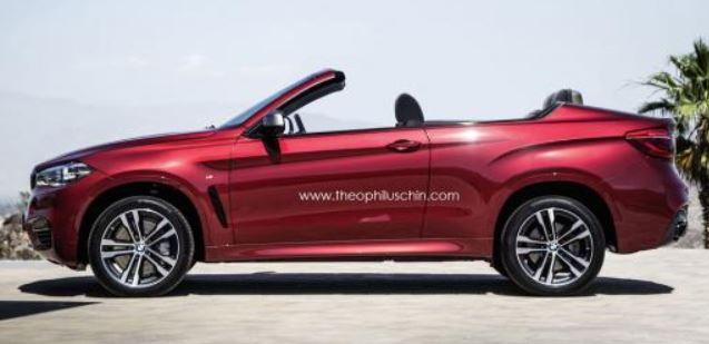 BMW X6 Cabrio Rendered Online