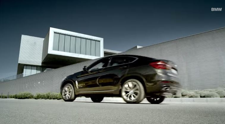 BMW X6 launch film