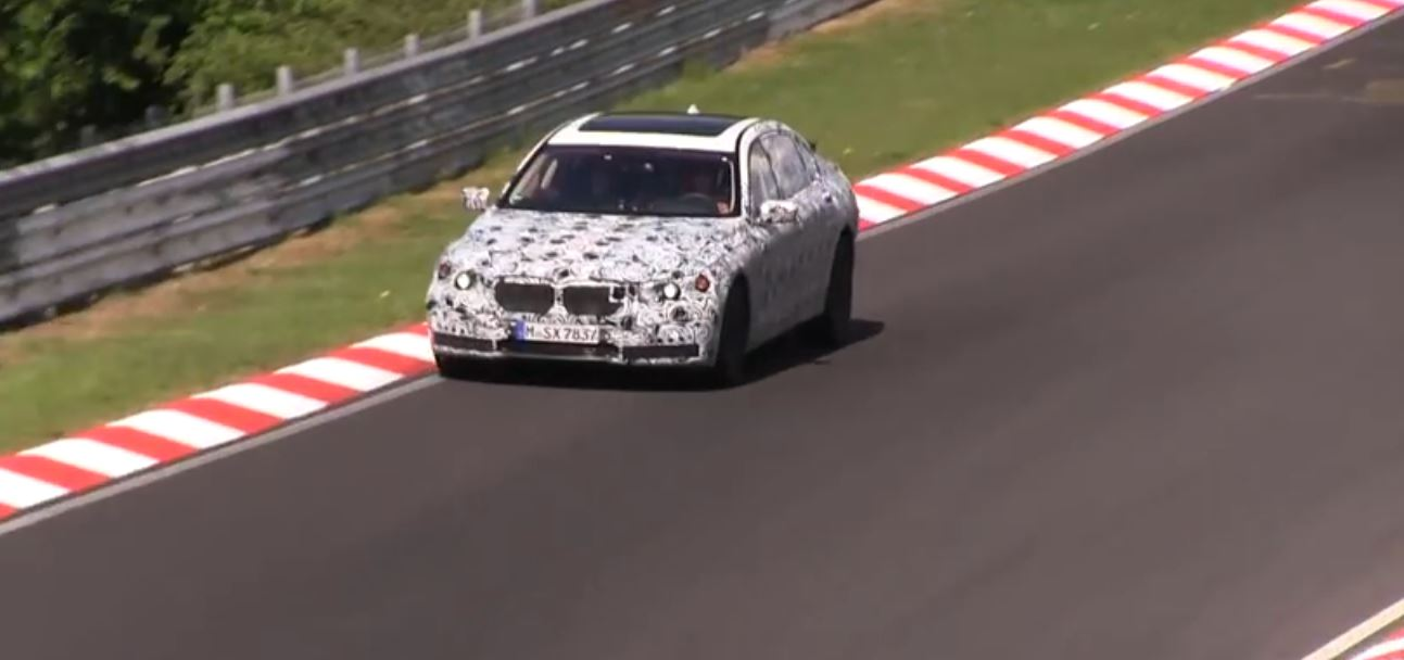 Upcoming BMW 7-Series Caught on Other Video at Nurburgring