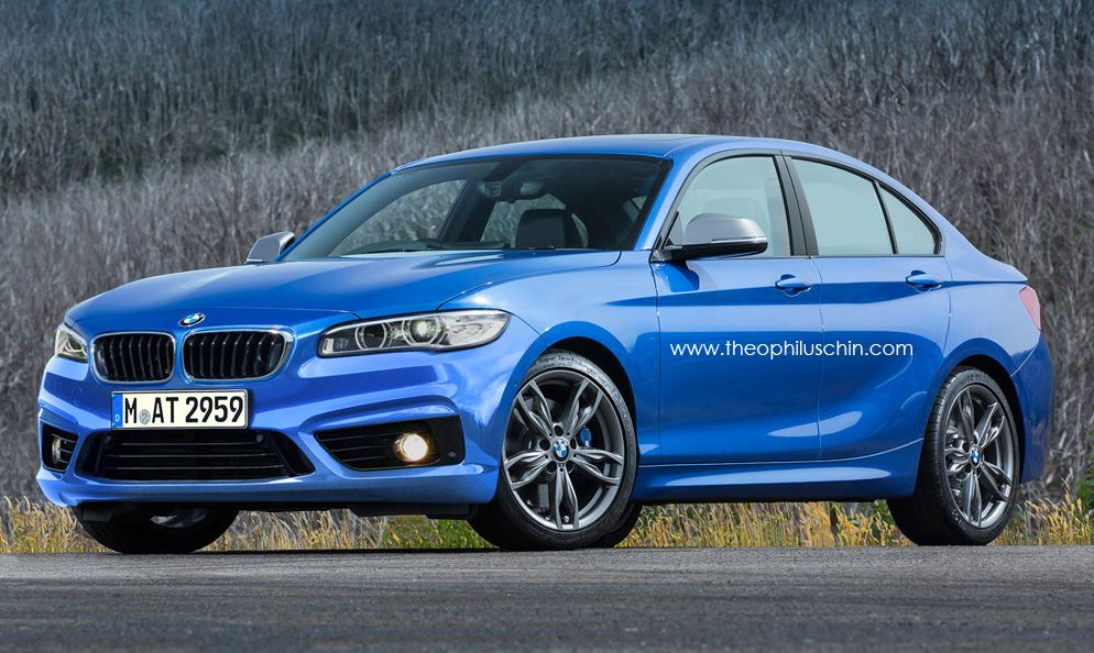 BMW 1 Series Sedan rendering