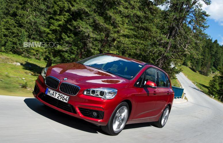 BMW 2 Series Active Tourer Gets First Drive in Austria