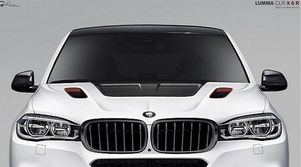Lumma Design previews their take on the new BMW X6