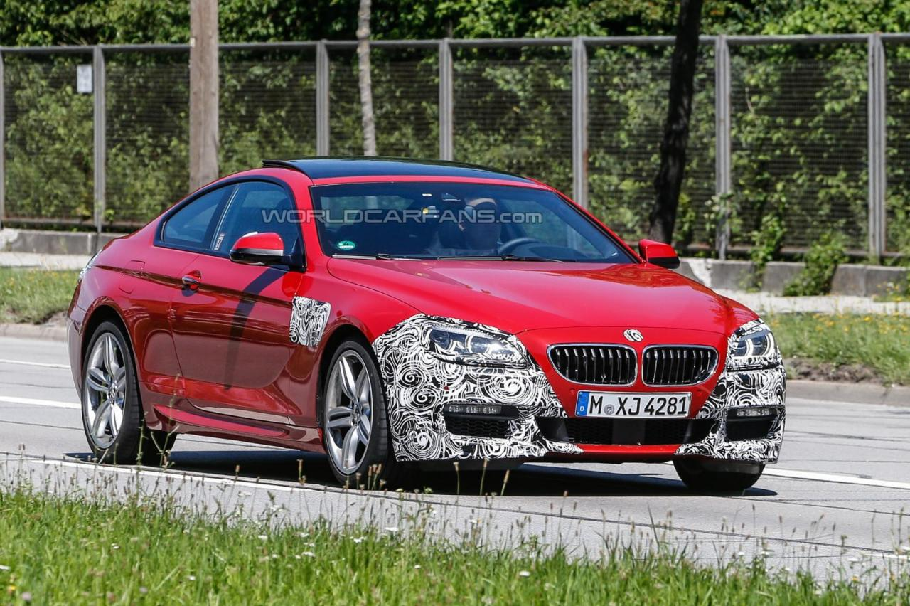 2015 BMW 6-Series Coupe spied
