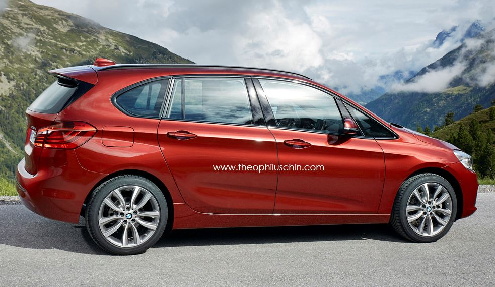 BMW 2-Series Active Tourer LWB