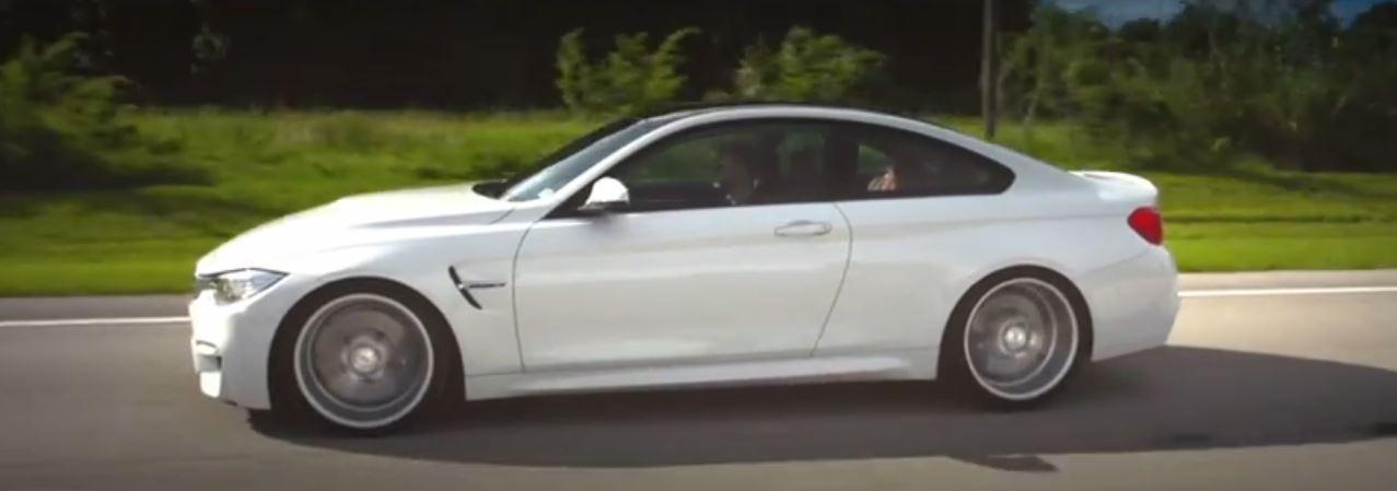 BMW M4 with Vossen Wheels