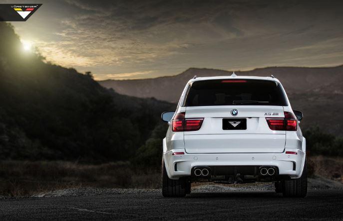 BMW X5 M in Alpine White by Vorsteiner