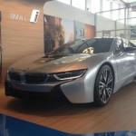 BMW i8 display car