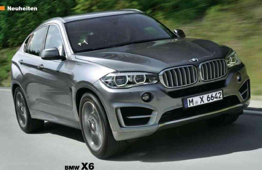 New-gen BMW X6