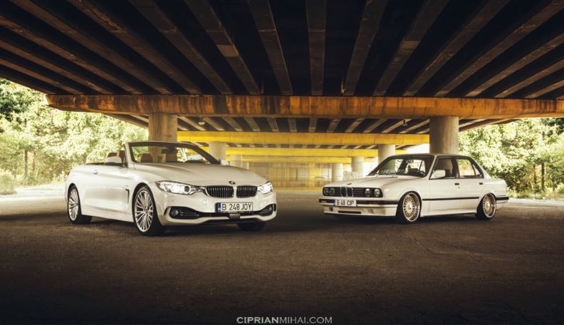 2014 BMW 4-Series Convertible Goes Photo Session