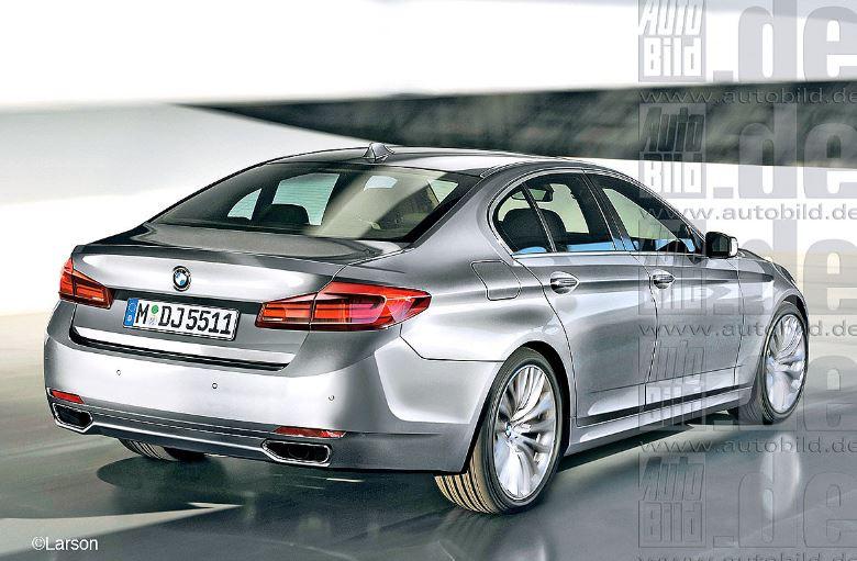 2016 G30 BMW 5-Series Sedan