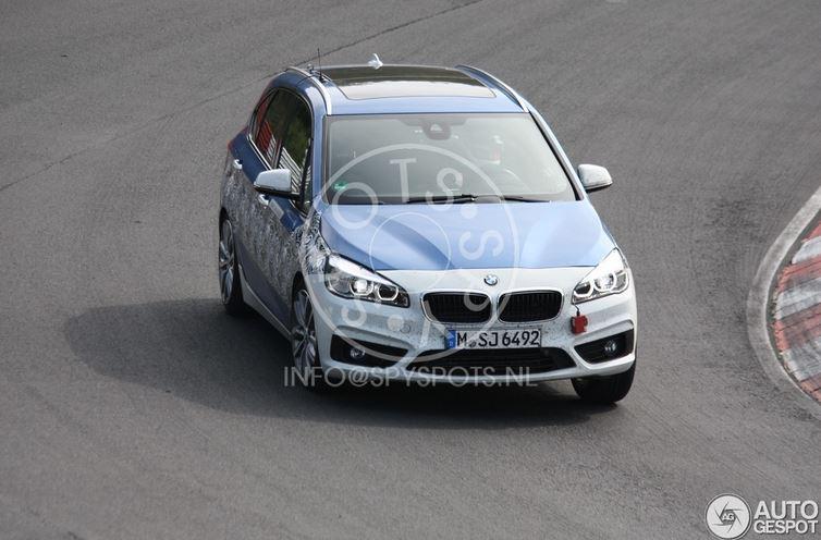 BMW 2-Series Hybrid Prototype