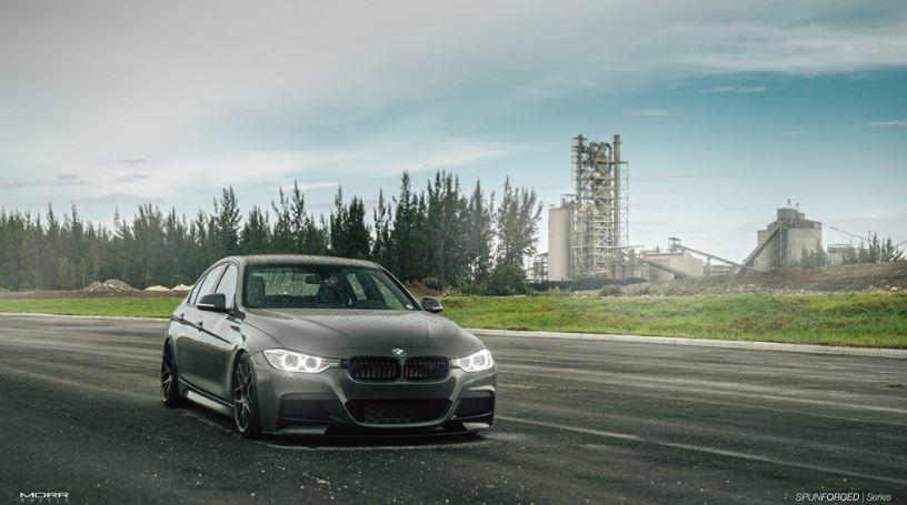 BMW 3-Series on MORR SpunForged FS77 Wheels