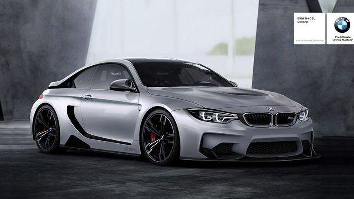 BMW CSL Visual Concept
