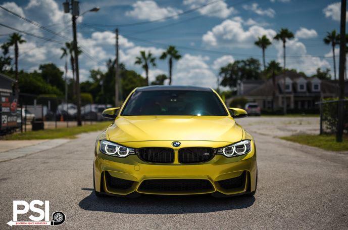 BMW M3 Austin Yellow by PSI